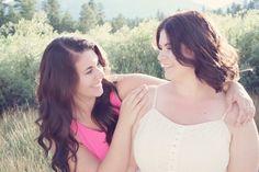 Sisters Kaitlynn and Haley Morgan Photography by Jennifer Morgan