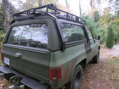 CUCV Roof rack and brush guard/winch bumper for hunters!