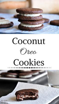 Coconut Oreo Cookies | No Gojis, No Glory