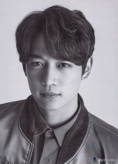 Minho! I love his half smile half regular look, he looks so serious and mysterious (I want to say curious cause then I go all, I'm so curious!)