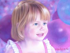Portrait of Kailee/MORGAN ALEXANDRA KARI ARTIST/Pastel on Pastelmat