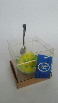 Sabonete cupcake de Limão Siciliano