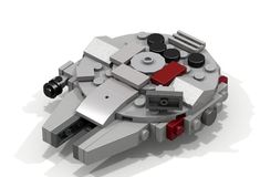 Mini Millenium Falcon (LDD Building Instructions) by Cap.