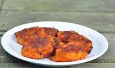 Crispy Sweet Potato Discs