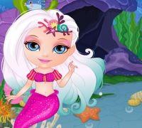 Bebek Barbie Deniz Kızı