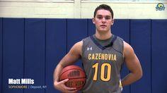 Meet the 2015-2016 Cazenovia College Wildcats men's basketball team!
