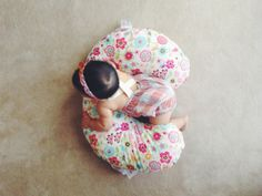 Boppy pillow// love the floral pattern//