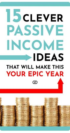 Looking for passive income ideas? These are real ways for you to make money while you sleep no matter what your passion, experience, or skill-set are. These 15 passive income ideas that will help you to make extra money and increase your wealth! Pick the Make Money Fast, Ways To Save Money, Make Money From Home, Money Tips, Money Saving Tips, Money Hacks, Make Money Writing, Make Money Blogging, Make Money Online