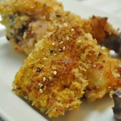 Sesame and panko crusted chicken