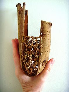 willow bark pouch