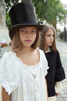 Thylane Blondeau and her half sister   thylane blondeau ...
