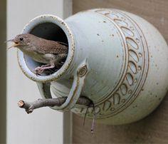Bird Bottle by Granby Artists - Karimi