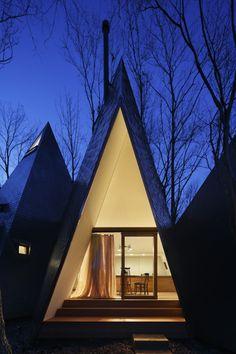 Hiroshi Nakamura & NAP Co - Nasu tepee house, Tochigi...