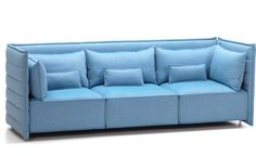 Alcove Plume 3 Seater Sofa - hivemodern.com