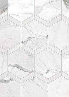 De Anze Mosaic Calacatta Thassos copy