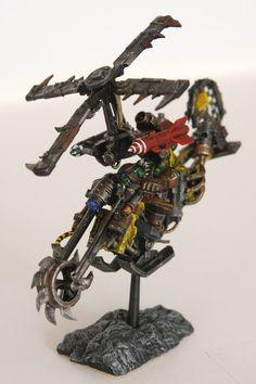 Santa Cruz Warhammer: Tha Ork HeliChoppa!