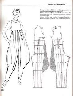 and easily alter waistline Sewing Pants, Sewing Clothes, Diy Clothes, Clothing Patterns, Dress Patterns, Sewing Patterns, Jumpsuit Pattern, Pants Pattern, Romper Pattern