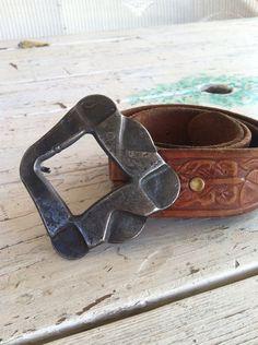 Belt buckle by ArtIronworks on Etsy