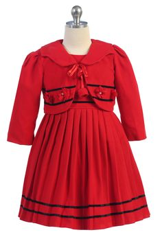 THE GRETEL DRESS Price: $39.99, Free Shipping Options: 2T, 4T, 6, 8 click picture to purchase
