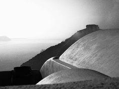 Roof tops of Santorini