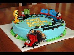 How to make Thomas the train fondant figure tutorial / Jak zrobić figurkę ciuchci Tomek - YouTube