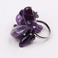 Купить Мода стиль фиолетовый серия аметист фишки регулируемые кольцаи другие товары категории Кольцав магазине Lucky Fox JewelryнаAliExpress. чип легче и кольцо «чип