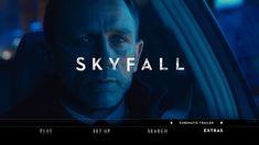 Skyfall Blu-ray extras menu