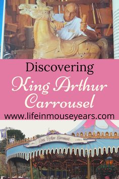 King Arthur Carrousel in Disneyland is the oldest attraction in the park! It is one of the opening day attractions from 1955 but this attraction got its start years earlier. This post shares some fun and interesting facts that you won't want to miss! www.lifeinmouseyears.com #lifeinmouseyears #disneyland #kingarthurcarrousel #disneyfacts #disney Disney Facts, Opening Day, King Arthur, Disneyland Resort, Interesting Facts, Some Fun, Attraction, Fun Facts, Old Things