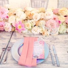 A bit of rustic mixed with the elegance. Shades of light pink and peach #karentran #mexicowedding