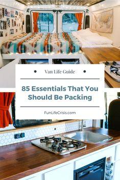 Vintage Camper Interior, Van Interior, Interior Ideas, Vintage Campers Trailers, Camper Trailers, Rv Camping Tips, Camping Ideas, Van Camping, Camping Stuff