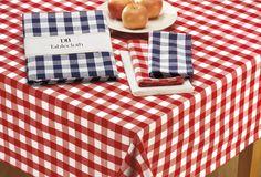 "Amazon.co.jp: [デザインインポート] DII テーブルクロス 100% コットン レッド ギンガムチェック DII 100% Cotton Machine Washable Tablecloth Red Check 60 x 84""【並行輸入品】: ホーム&キッチン..."