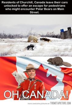 Things that only happen in Canada…