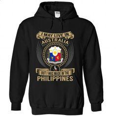 Australia - Philippines Special - #sweatshirts for women #capri shorts. GET YOURS => https://www.sunfrog.com/States/Australia--Philippines-Special-duyxuikjad-Black-Hoodie.html?60505