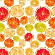 Grapefruits and friends || watercolor citrus fruits pattern by katerinaizotova Seville Orange Marmalade, Natural Form Art, A Level Art, Fruit Pattern, Patterns In Nature, Mark Making, Watercolor Print, Custom Fabric, Spoonflower