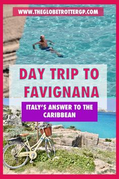 Trapani to Favignana - a day trip to europe's own caribbean. Best Places In Italy, Things To Do In Italy, Places To See, Travel Tips For Europe, Top Travel Destinations, Travel Plan, Travel Ideas, Europe Holidays, Italy Holidays