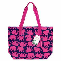 Lilly Pulitzer Tusk In Sun Insulated Cooler Tote