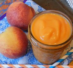 Peach and Sweet Potato Smoothie | Smoothie Recipes for Kids