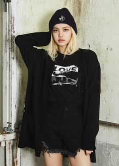 Lisa of BLACKPINK for NONAGON FW 2017