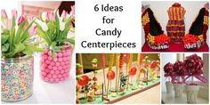 6 Ideas for Candy Centerpieces | Bar & Bat Mitzvah and Party Planning Ideas - mazelmoments.com