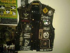 Image result for punk jacket diy