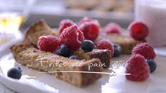 Frites de pain doré | Cuisine futée, parents pressés Quebec, Bon Dessert, Christmas Brunch, Omelette, Fodmap, Quiche, Smoothies, Waffles, Biscuits