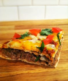 Mexican pizza-Just like Taco Bell! Very good!