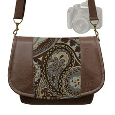 Womens Stylish SLR Camera Bag Dslr Camera Bag by janinekingdesigns, $89.99