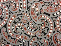 Theo Schoon Maori Pattern on whakatane boardCredit:Chartwell Collection, Auckland Art Gallery Toi o Tāmaki, 1994 Maori Designs, Pattern Art, Abstract Pattern, Art Maori, Auckland Art Gallery, Maori Patterns, Maori People, Polynesian Art, New Zealand Art