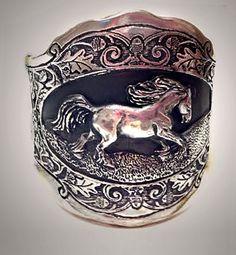horse cuff bracelet - Google Search