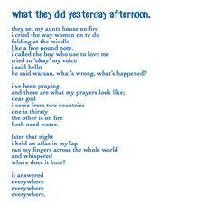 warsan shire poems - Google Search