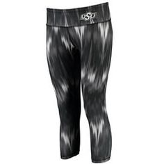 Women's chicka-d Black Oklahoma State Cowboys Slim Fit Campus Ikat Leggings