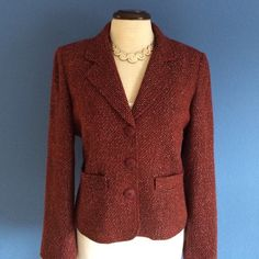 New ListingBurgundy Blazer Valentine's Day is almost here.   This is the perfect blazer for the occasion.   This classic piece can easily be dressed up or down.  Show your significant other you love them.  ❤️. Material: 75% Acrylic/20% Wool/5% Other fibers Style & Co Jackets & Coats Blazers