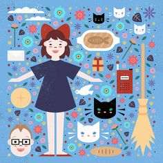 Carly Watts Art & Illustration: Kiki's Delivery Service
