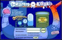 Gramm-O-L'eau, jeu pour apprendre la grammaire - Apprendre la grammaire française en actionnant des machines à eau.